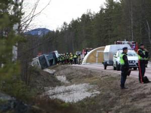 сообраќајна несреќа во шведска