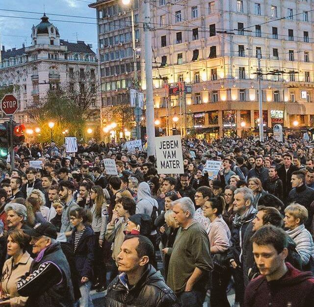 srbija protest