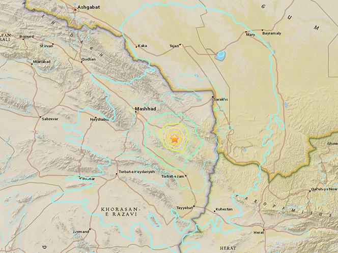 zemjotres Iran