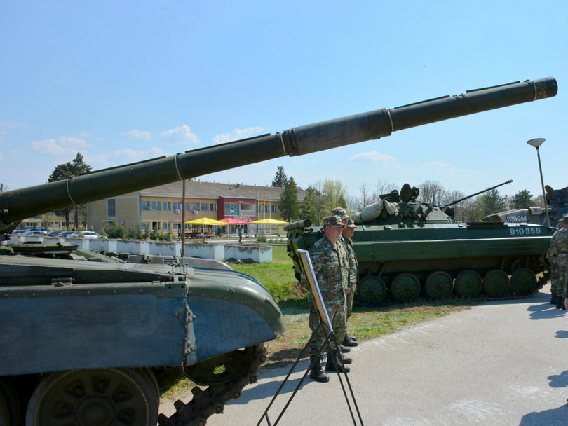 1 mehanizirana peshadiska brigada ARM - kasarna Petrovec 31mar17 - Generalshtab na ARM