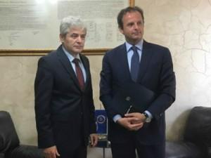 Ali Ahmeti i Karlo Romeo - 13maj17-DUI