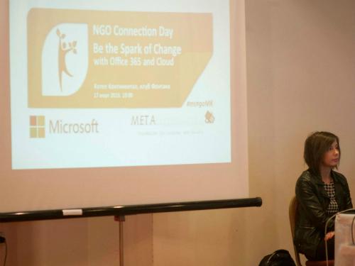Den na Majkrosoft za NVO - Metamorfozis