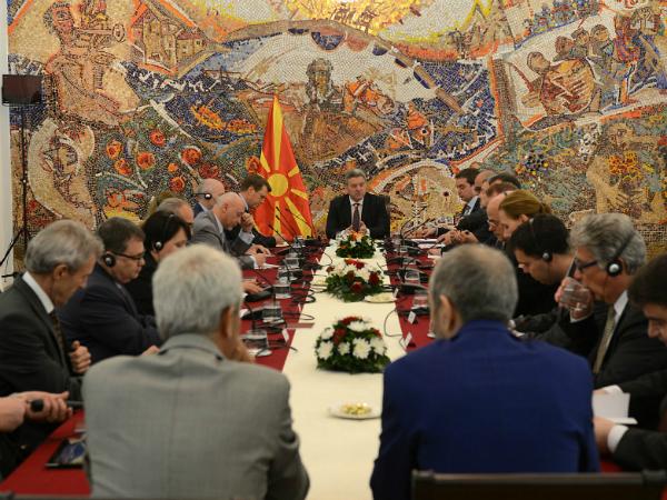 Gjorge Ivanov ambasadori od EU 29maj17 - kabinet na pretsedatelot