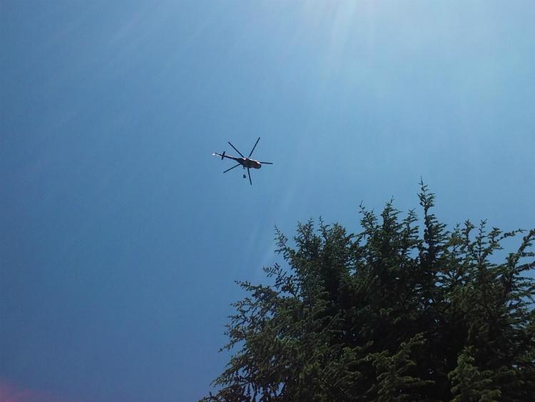 Хеликоптер АРМ Скопје 4мај17