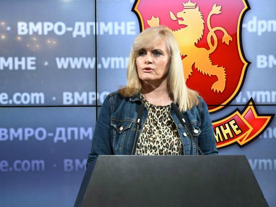 Liljana Zaturoska 16maj17 - VMRO-DPMNE