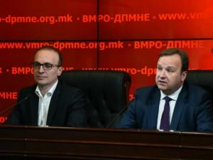 Miloshoski i Dimitriev - 22maj17 - VMRO-DPMNE