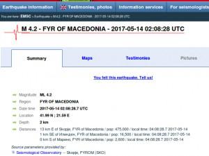 Zemjotres 14maj17