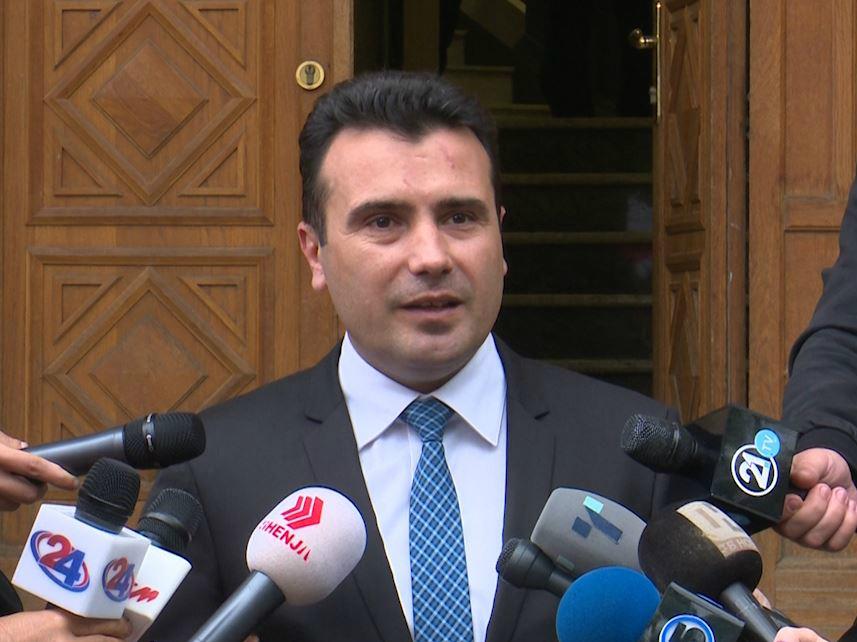 Zoran Zaev po pregovori so BESA Sobranie 26maj17 - SDSM