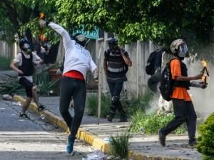 Demonstranti venecuela
