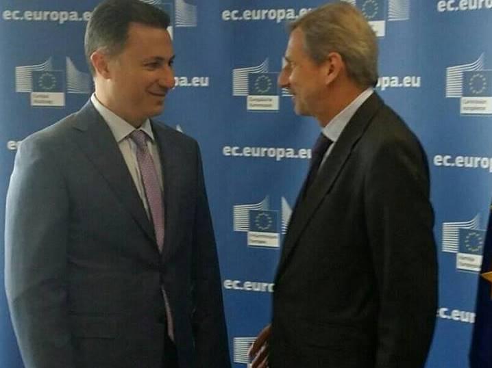 Gruevski-Han vo Brisel