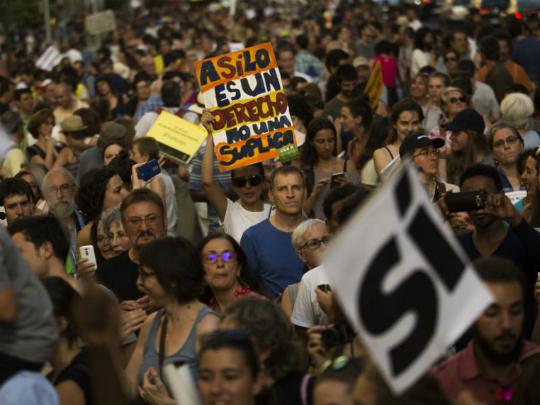 Madrid protesti 17jun17