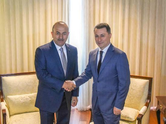 Nikola Gruevski Mevlut Cavusoglu 18jun17 - VMRO-DPMNE