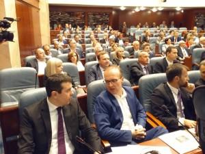 Sobranie Nikola Poposki Miloshoski Ilija Dimovski pratenichka grupa VMRO-DPMNE 31maj17 - Meta