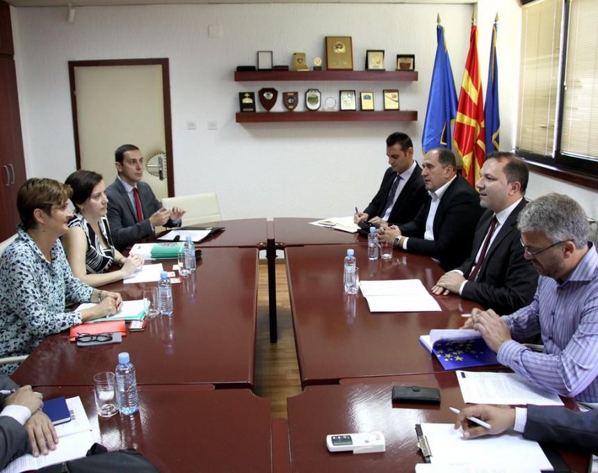 Spasovski so delegacija na Sovet na Evropa