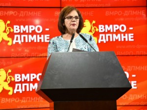 Vesna Pemova 20jun17 - VMRO-DPMNE
