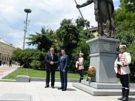 Zaev - Borisov spomenik car Samoil