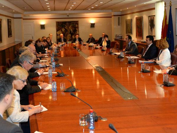 Zaev Bujar Osmani Shekerinska so ambasadori od EU 9jun17 - Vlada
