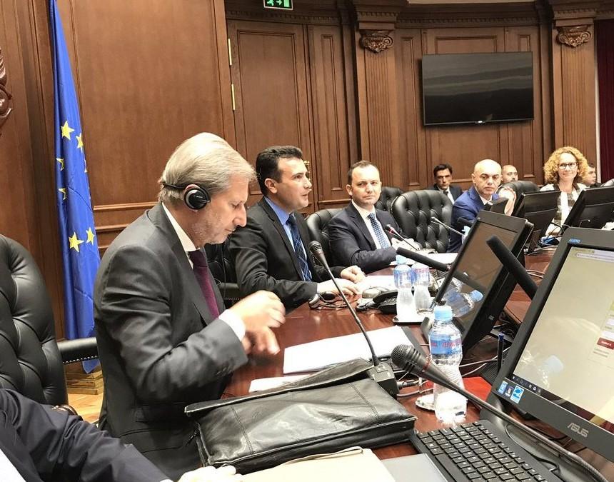Zaev - Han na sednica na Vlada