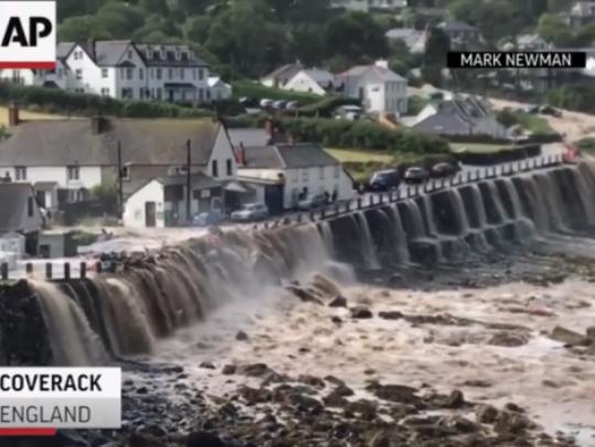 поплава Велика Британија
