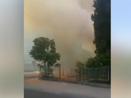 Пожар Подгорица 16јул17