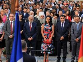 Zaev Talat Nacionalen den na Francija priem Makedonsko selo 14jul17 - Frosina Naskovikj