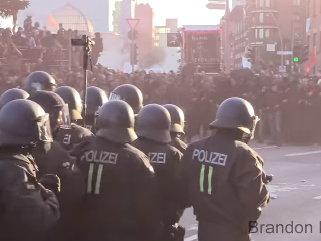 hamburg neredi G20 samit