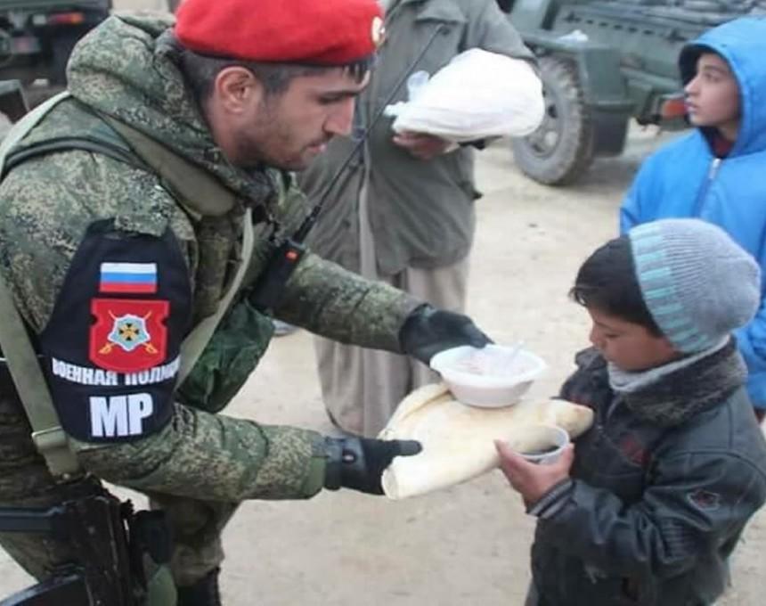 ruska voena policija sirija