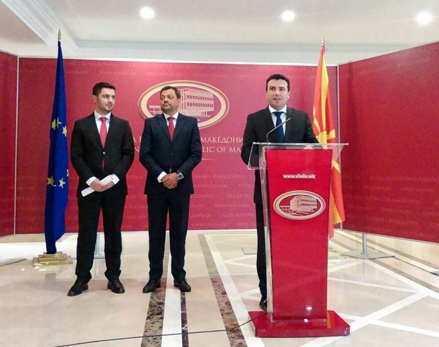 vlada Zoran Zaev Koco Angjushev Kreshnik Bekteshi
