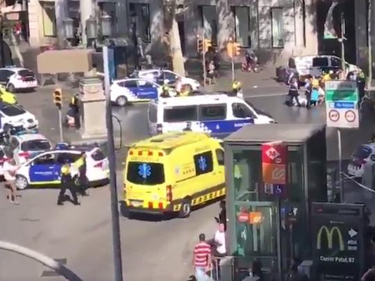 Barselona napad