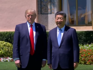 Donald Tramp i Ksi Djinping