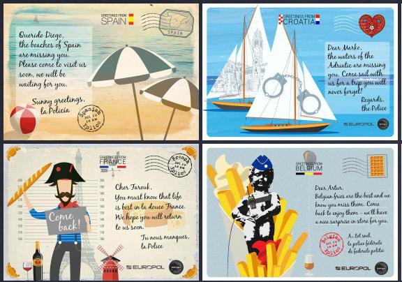 evropol razglednici