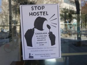 protest protiv masovniot turizam vo barselona
