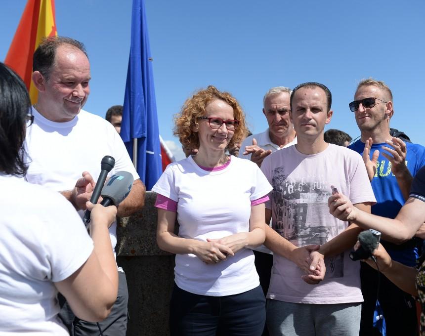 Radmila Shekerinska Gorazd Bartol Busheva Planina Krushevo 8 sep17 - MinOdbrana