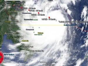 Tajfun Doksuri Vietnam