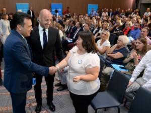 Zaev UNICEF deca so poprechenost 11ssep17 - Vlada