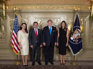 Zaev i Tramp