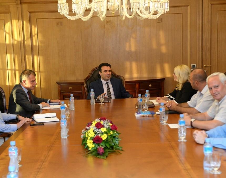 Zaev - sojuz na zdruzenija na Makedonci od Egejska Makedonija