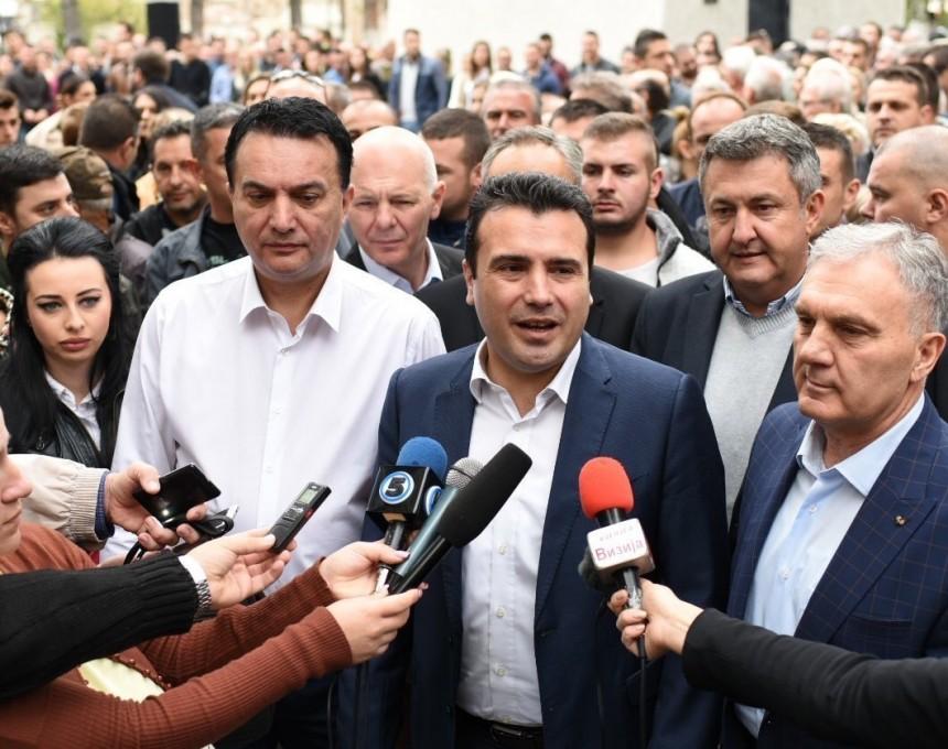 Zoran Zaev kampanja Prilep 30sep17 - SDSM