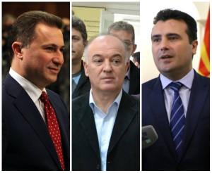 collage gruevski, taleski, zaev