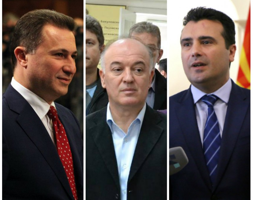 collage gruevski, taleski, zaev