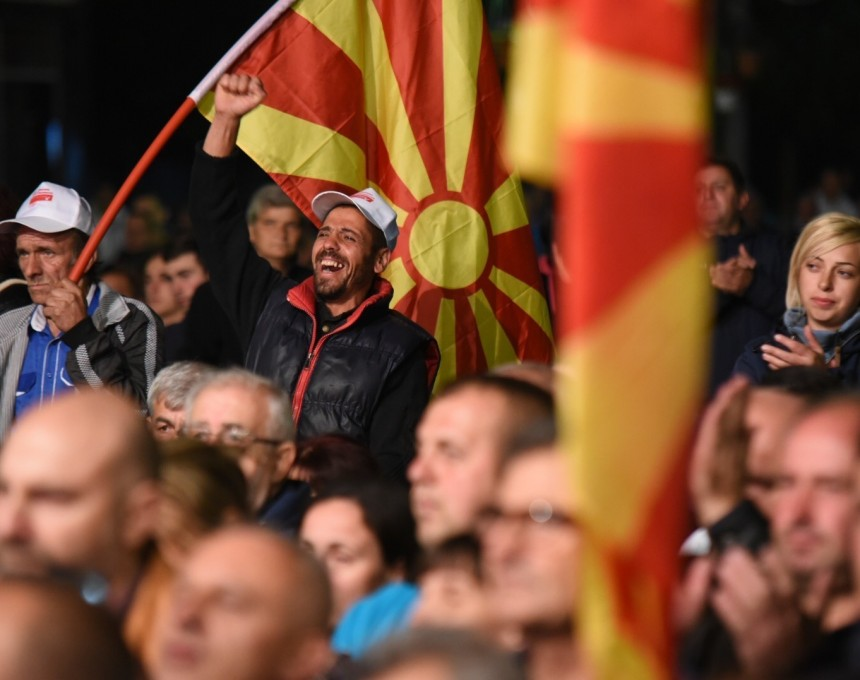 lokalni izbori 2017 miting Berovo 29sep17 - SDSM