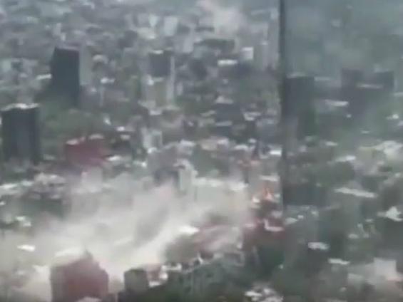 земјотрес Мексико Сити 19сеп17 - screenshot