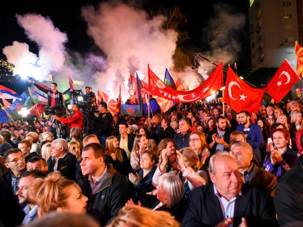 Miting Kumanovo lokalni izbori kampanja 1okt17 - SDSM