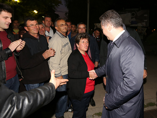 Nikola Gruevski vo Resen