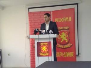 Petar Bogojeski - Inicijativa za reformi vo VMRO-DPMNE 30otk17 - Meta