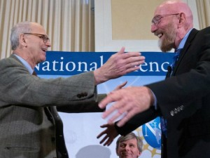 Rainer Weiss and Kip Thorne 2016