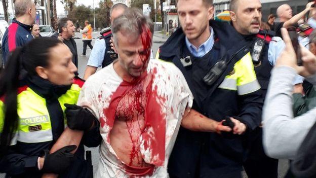 Раскрвавен Каталонија