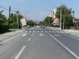 Ulica Boris Sarafov vo Gjorche Petrov - Grad Skopje