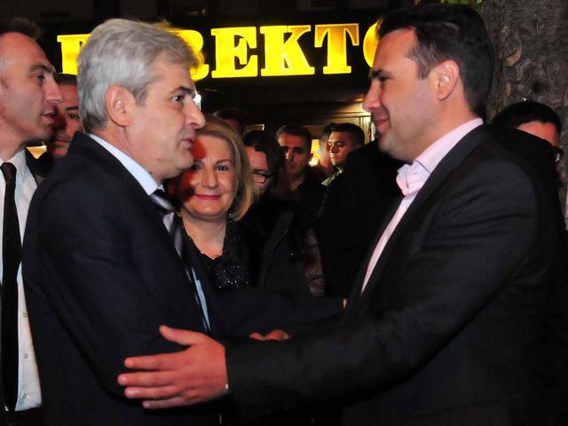 Zaev i Ahmeti
