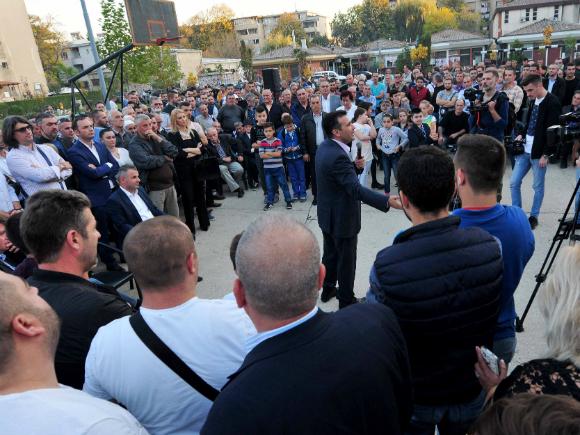 Zoran Zaev Topaansko Pole 20okt17 - SDSM